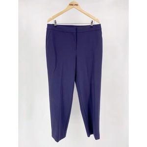 St. John Tapered Leg Wool Dress Pants Slacks
